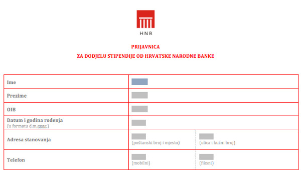 Ammco Bus Hrvatska Narodna Banka Oib