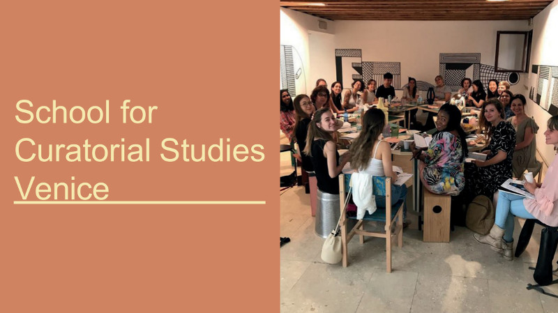 Summer School in Curatorial Studies...
